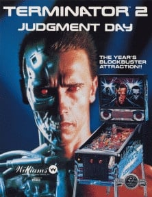 Terminator 2: Judgment Day flyer
