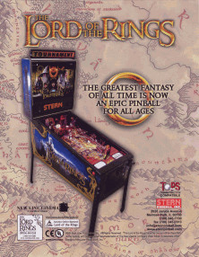 The Lord of the Rings flyer