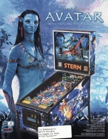 James Cameron's Avatar flyer