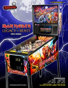 Iron Maiden Legacy Of The Beast (Pro) flyer