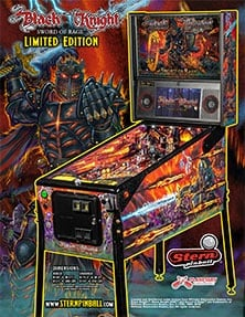 Black Knight: Sword of Rage (Limited Edition) flyer