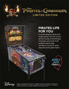 Pirates of the Caribbean, Limited Edition flyer