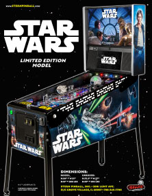 Star Wars Limited Edition flyer