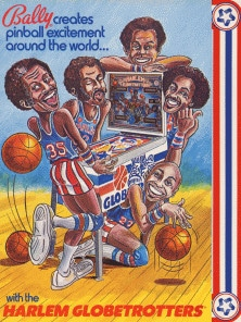 Harlem Globetrotters On Tour flyer