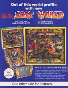 Lost World flyer