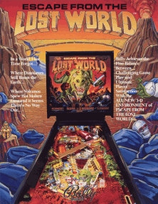 Escape from the Lost World flyer
