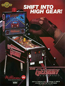 The Getaway: High Speed II flyer