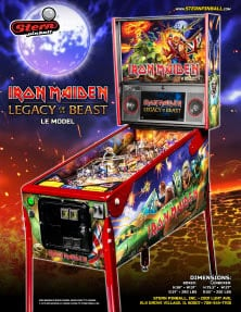 Iron Maiden Legacy Of The Beast (Limited Edition) flyer