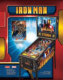 Iron Man flyer