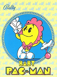 Baby Pac-Man flyer