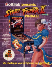 Street Fighter II flyer